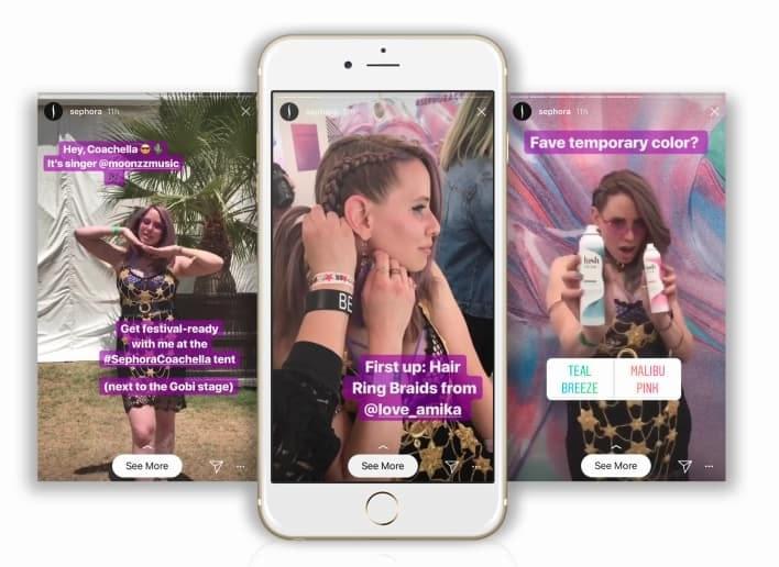 Sephora's Coachella takeover with Instagram Stories