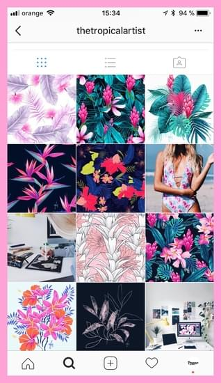 create a coherent Instagram aesthetics with a visual planner for Instagram