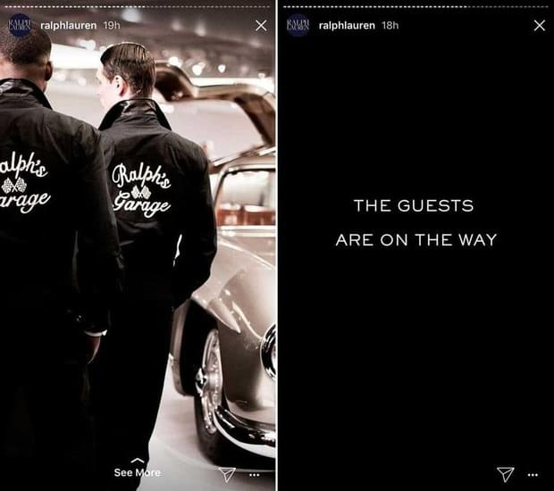 Ralph Lauren made Instagram Stories work wonders during the New York Fashion week