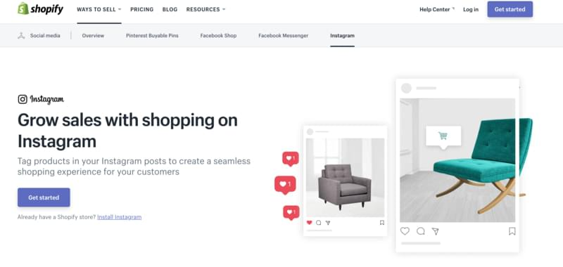 create a Shopify account to be able to create Instagram shoppable posts and enhance your followers' shopping experience