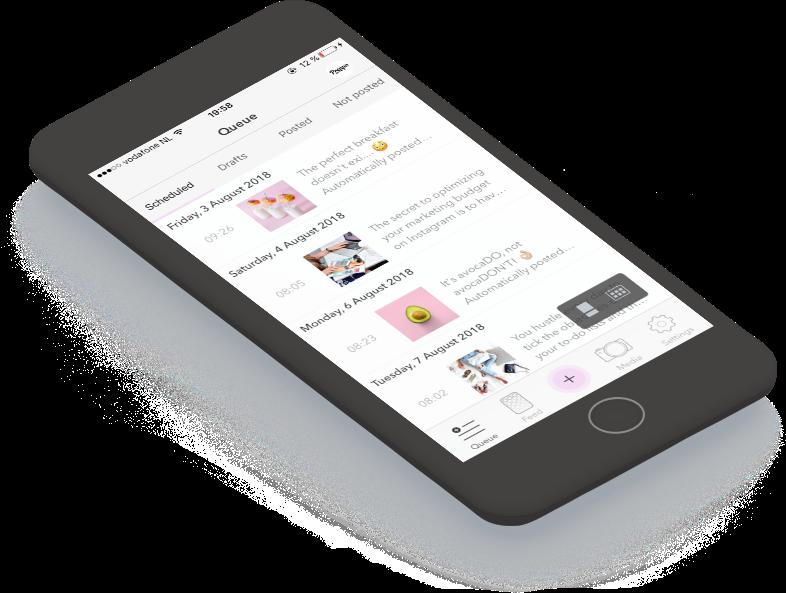 automatic Instagram publishing or semi-manual