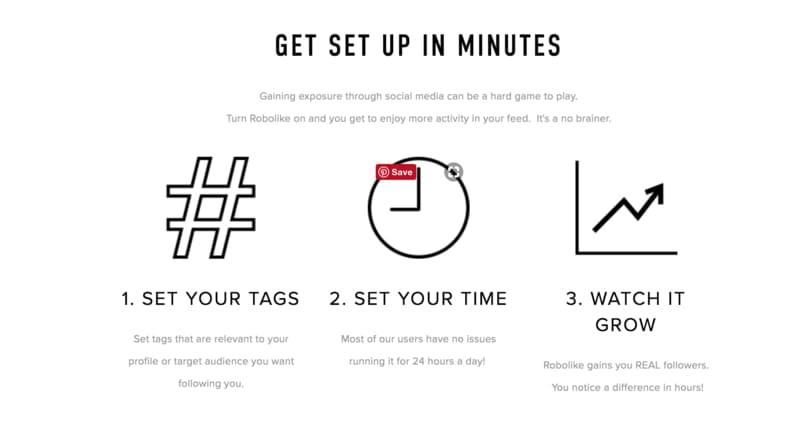 3 easy steps to set RoboLike up
