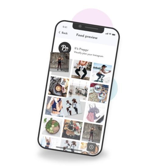 Schedule your instagram posts to improve your Instagram aesthetics