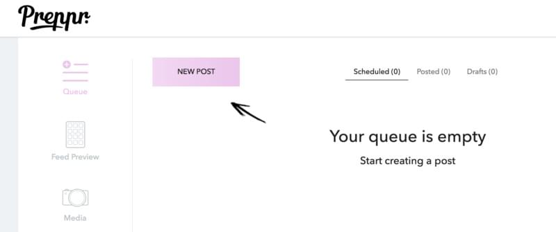 how to schedule Instagram posts with Preppr
